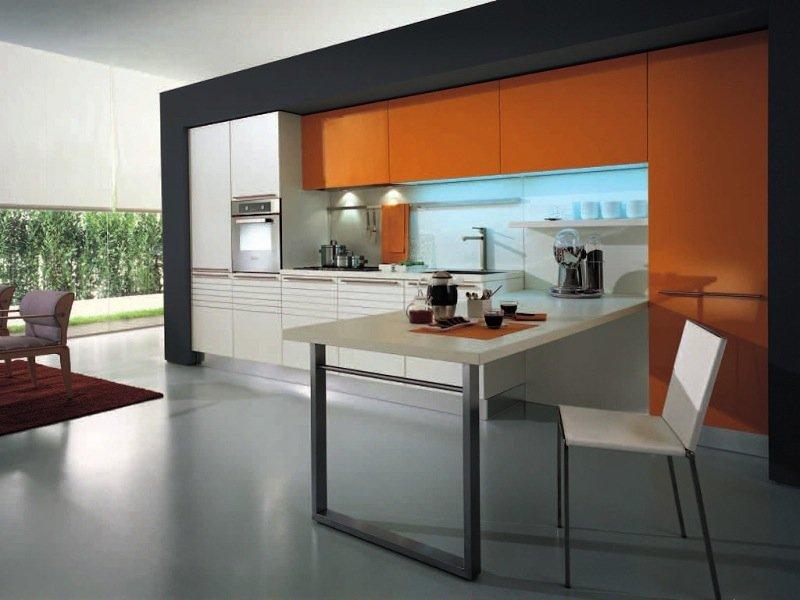 Кухни прямые дизайн проекты